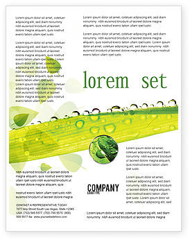 Nature & Environment: Dew Flyer Template #04872
