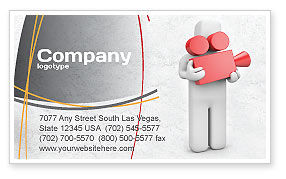 Careers/Industry: Cameraman Business Card Template #04873