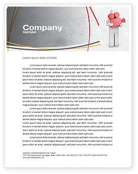 Careers/Industry: Cameraman Letterhead Template #04873