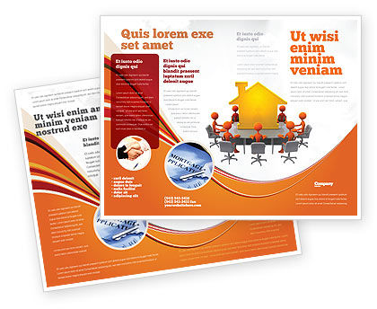 Consulting: Building Project Conference Brochure Template #04874
