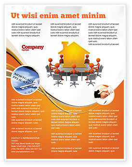 Building Project Conference Flyer Template, Background in Microsoft ...
