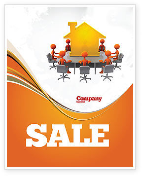 Building Project Conference Sale Poster Template