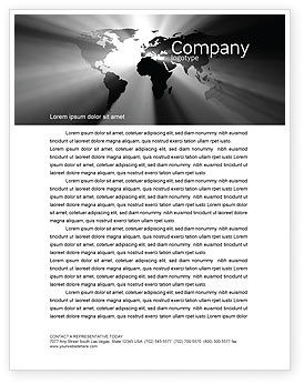 World Light Letterhead Template