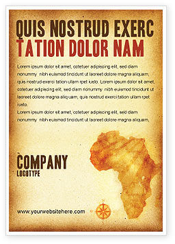 Africa Ad Template, 04877, Flags/International — PoweredTemplate.com