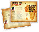 Flags/International: Africa Brochure Template #04877