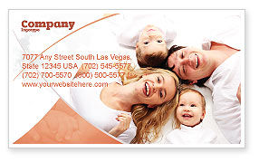 Lucky Family Business Card Template
