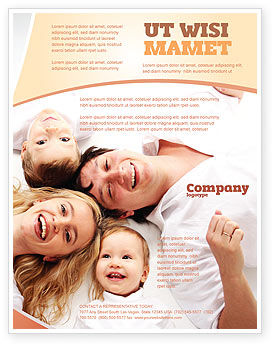 Lucky Family Flyer Template