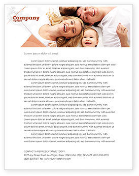 Lucky Family Letterhead Template