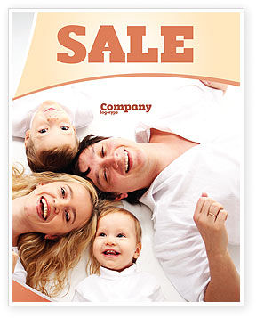 Lucky Family Sale Poster Template