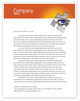 Eye Letterhead Template