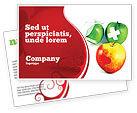 Medical: Vitamin Treatment Postcard Template #04895
