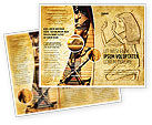 Education & Training: Egyptian Engraving Brochure Template #04908