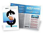Business Concepts: Currency Trading Brochure Template #04911