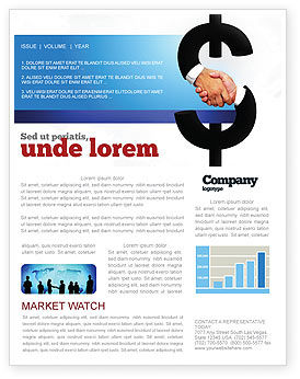 Currency Trading Newsletter Template
