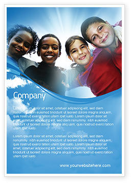 Education & Training: Cultural Diversity Ad Template #04914