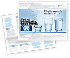 Business Concepts: Glass Half Full Brochure Template #04919