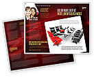 Careers/Industry: Conference Hall Waiting For Business Meeting Brochure Template #04923