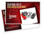 Careers/Industry: Conference Hall Waiting For Business Meeting Postcard Template #04923