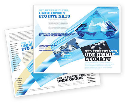 Careers/Industry: Brilliant Brochure Template #04924