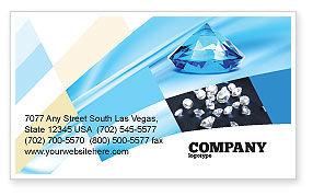Brilliant Business Card Template, 04924, Careers/Industry — PoweredTemplate.com