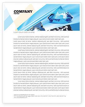 Brilliant Letterhead Template, 04924, Careers/Industry — PoweredTemplate.com