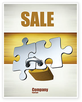 Consulting: Connection Sale Poster Template #04925