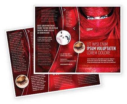 Mystic Beauty Brochure Template, 04951, Art & Entertainment — PoweredTemplate.com