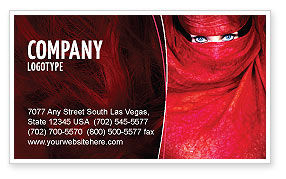 Art & Entertainment: Mystic Beauty Business Card Template #04951
