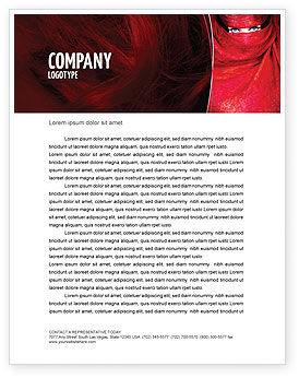 Art & Entertainment: Mystic Beauty Letterhead Template #04951