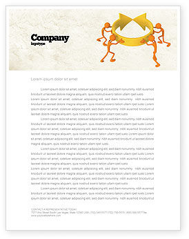 Business Concepts: Resolving Letterhead Template #04952