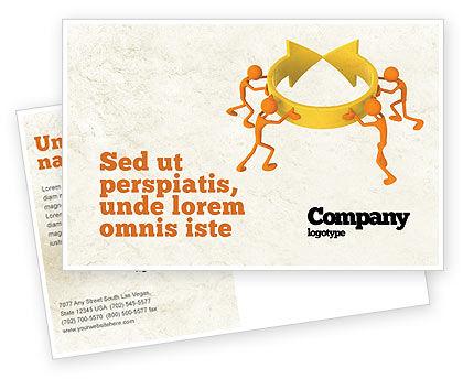 Business Concepts: Modèle de Carte postale de résolution #04952