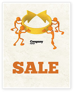 Resolving Sale Poster Template