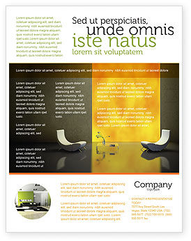 Modèle de Flyer de design durable, 04962, Carrière / Industrie — PoweredTemplate.com