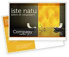 Careers/Industry: Sustainable Design Postcard Template #04962