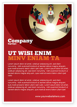 Business Concepts: Common Cause Ad Template #04964