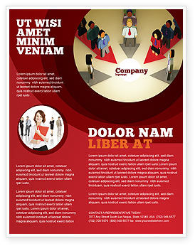 Business Concepts: Common Cause Flyer Template #04964