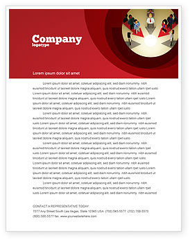Business Concepts: Common Cause Letterhead Template #04964