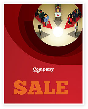 Common Cause Sale Poster Template, 04964, Business Concepts — PoweredTemplate.com