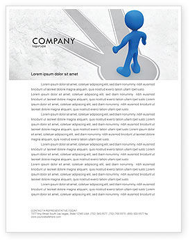 Consulting: Choosing Way Letterhead Template #04967