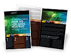 Global: Web Over The Earth Brochure Template #04970