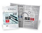 Careers/Industry: Working Drawings Brochure Template #04971