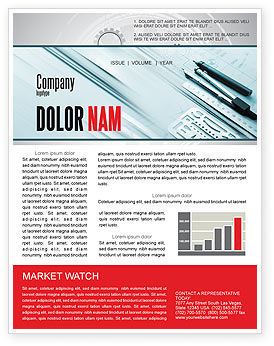 Careers/Industry: Working Drawings Newsletter Template #04971