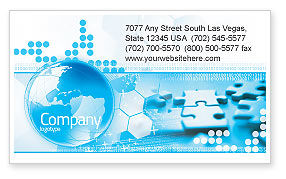 World Integrity Business Card Template, 04979, Business Concepts — PoweredTemplate.com