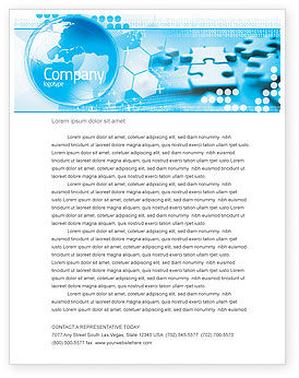 Business Concepts: World Integrity Letterhead Template #04979
