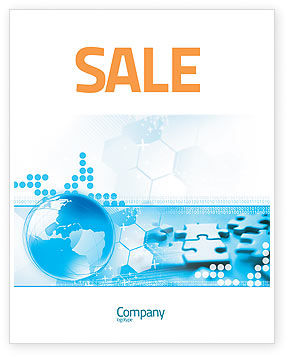 World Integrity Sale Poster Template, 04979, Business Concepts — PoweredTemplate.com