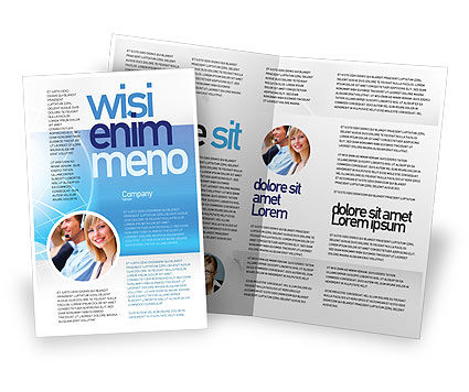 Two Worlds Brochure Template