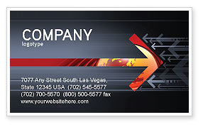 Resistance Movement Business Card Template
