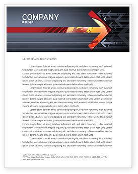 Business Concepts: Resistance Movement Letterhead Template #04988