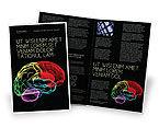 Medical: Brain Centers Brochure Template #04990