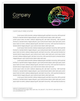 Medical: Brain Centers Letterhead Template #04990